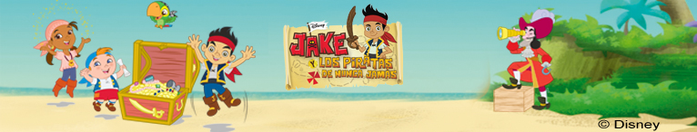 <div>Disney. Jake y los piratas</div>