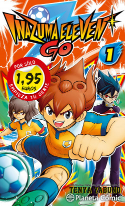 MM Inazuma Eleven Go! nº 01 1,95