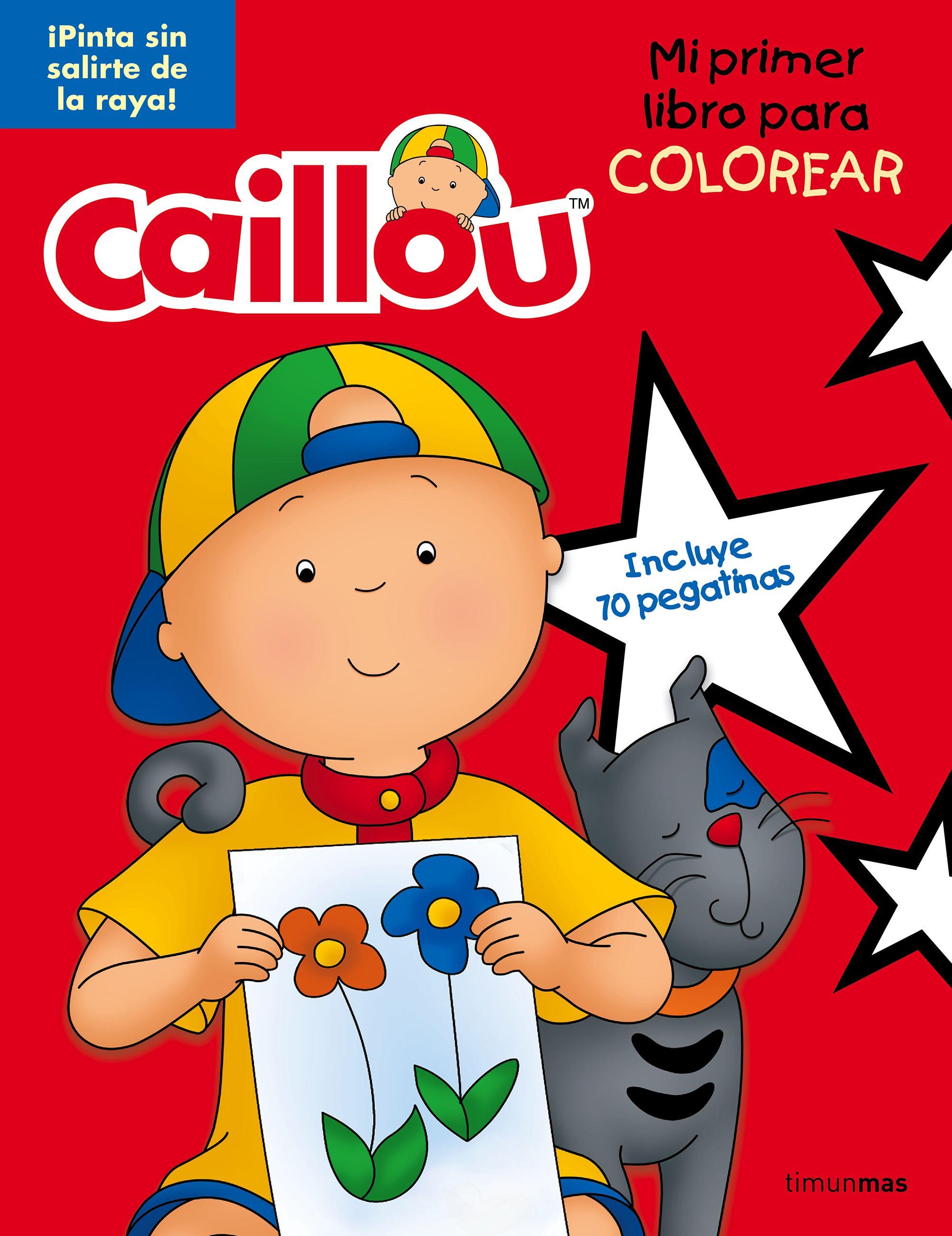 Excelente Libro De Colorear Caillou Ornamento - Dibujos Para ...